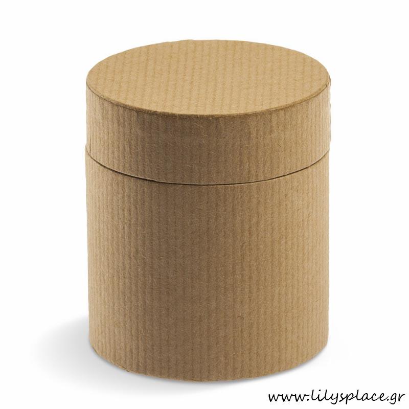 Κουτί χάρτινο κύλινδρος οικολογικό