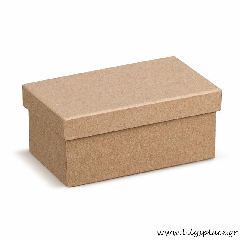 Κουτί χάρτινο παραλληλόγραμμο natural