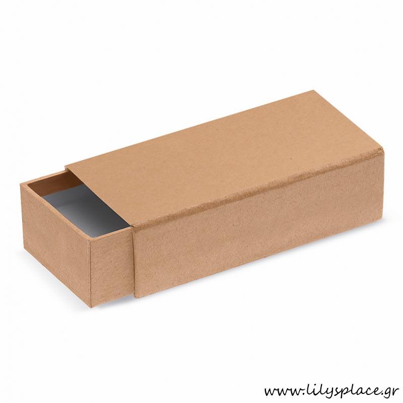 Κουτί χάρτινο συρόμενο σπιρτόκουτο craft
