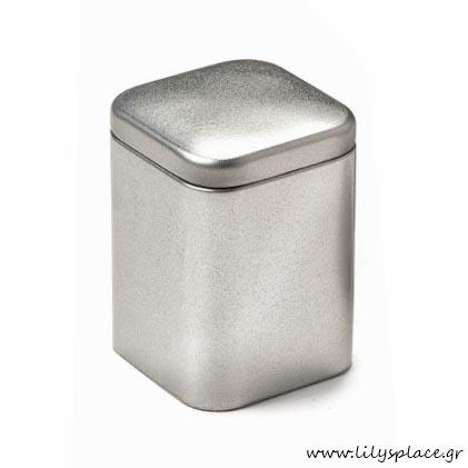 Μεταλλικό κουτί τετράγωνο