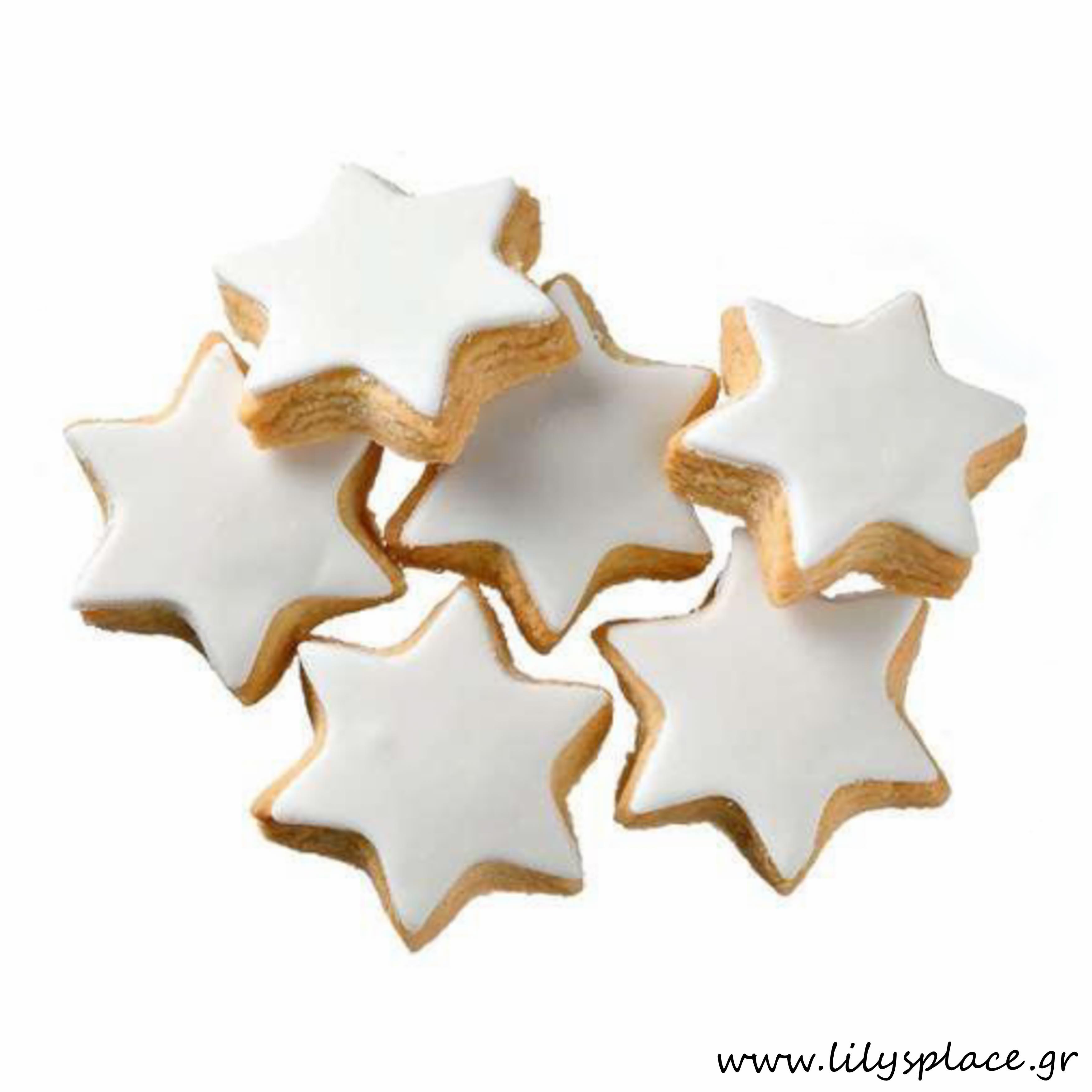 Μπισκότα βάπτισης μπουκίτσες κιλού αστέρια
