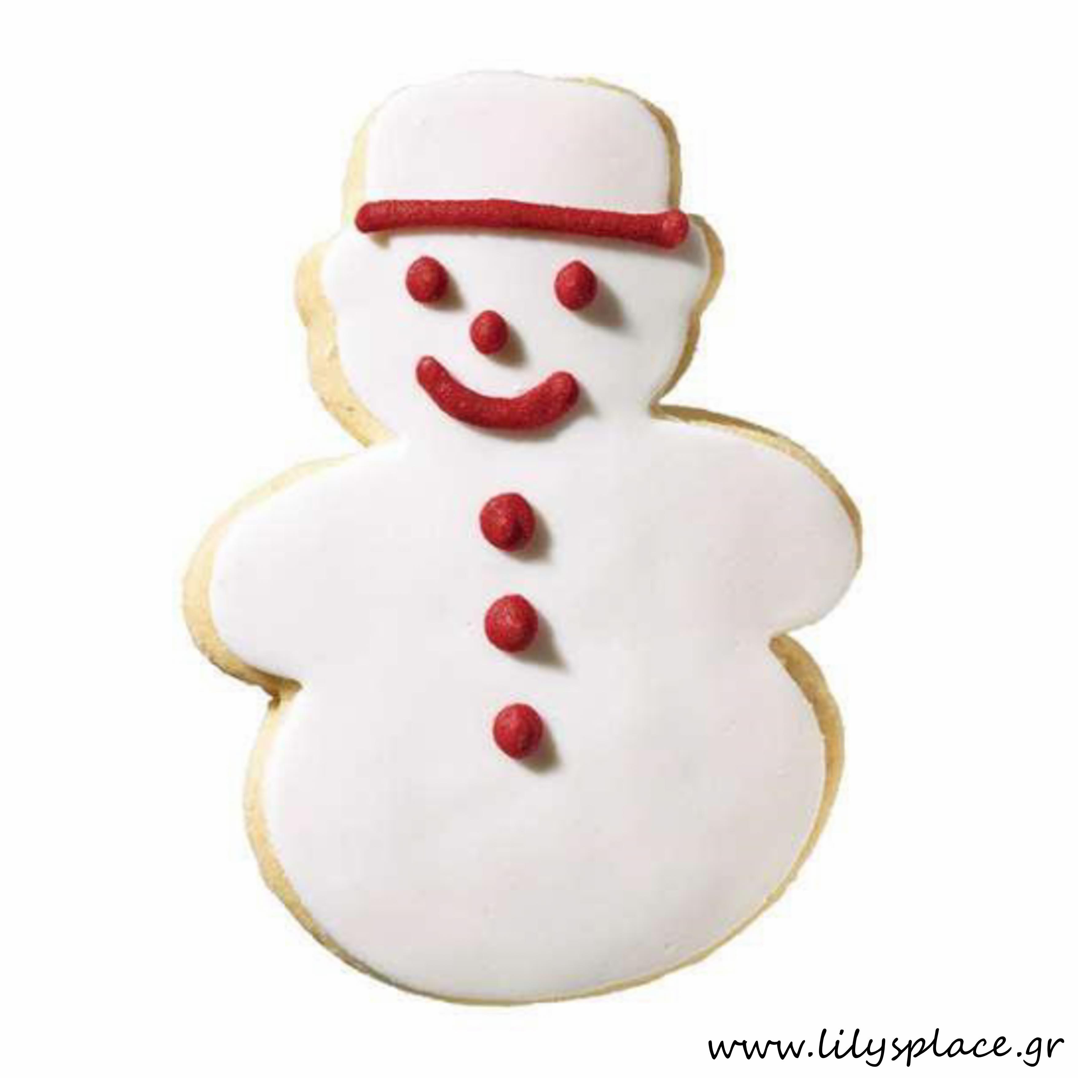 Μπισκότο χιονάνθρωπος
