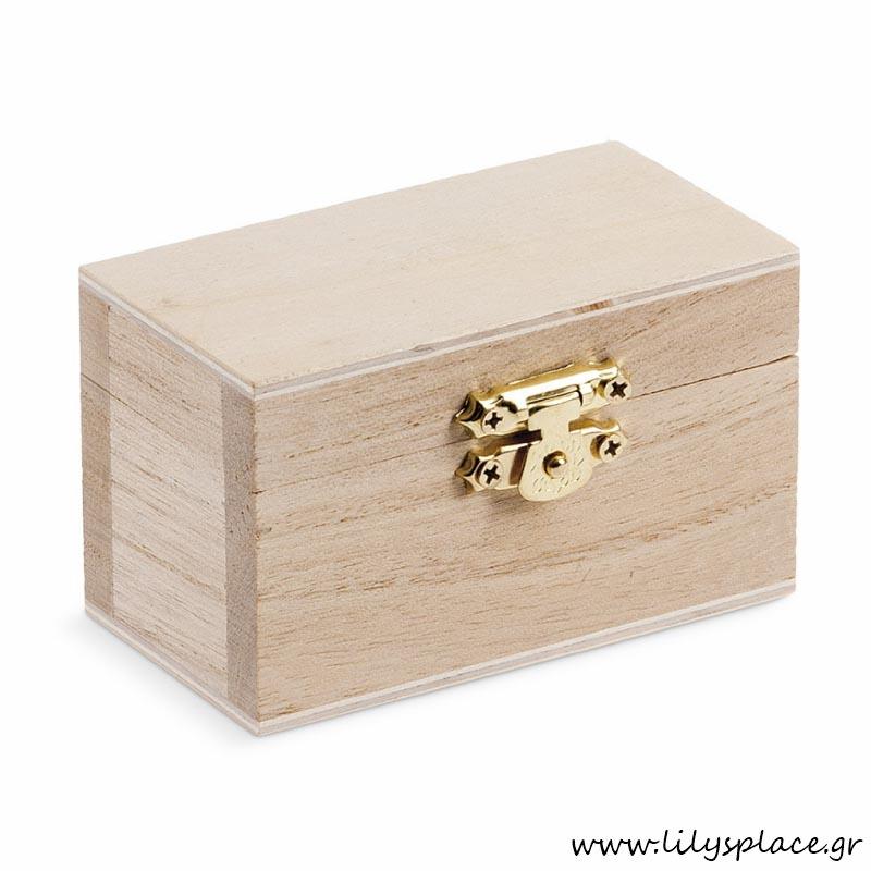 Ξύλινο κουτάκι natural
