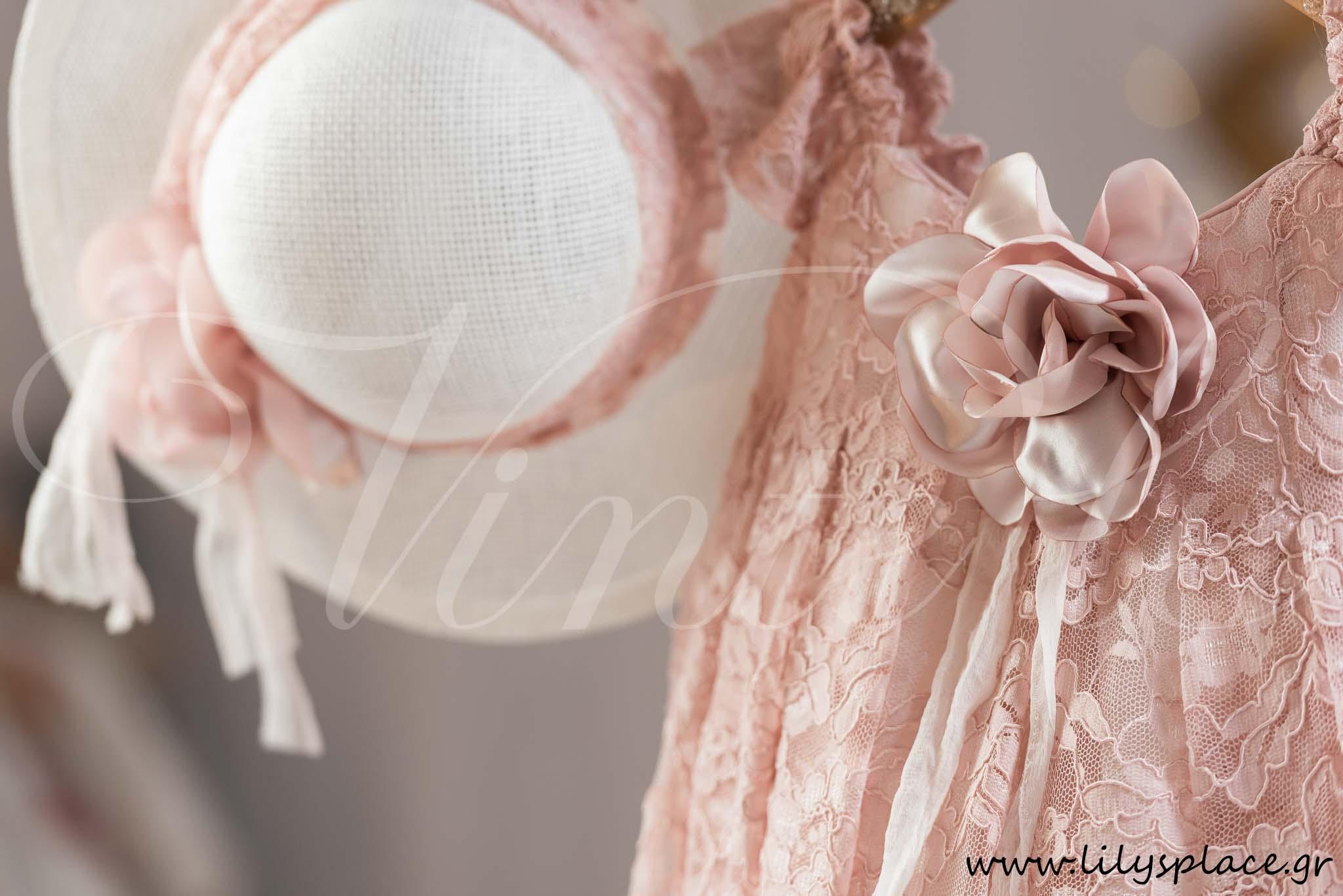 2a0b36504d5d Φόρεμα βάπτισης με δαντέλα Vinte li
