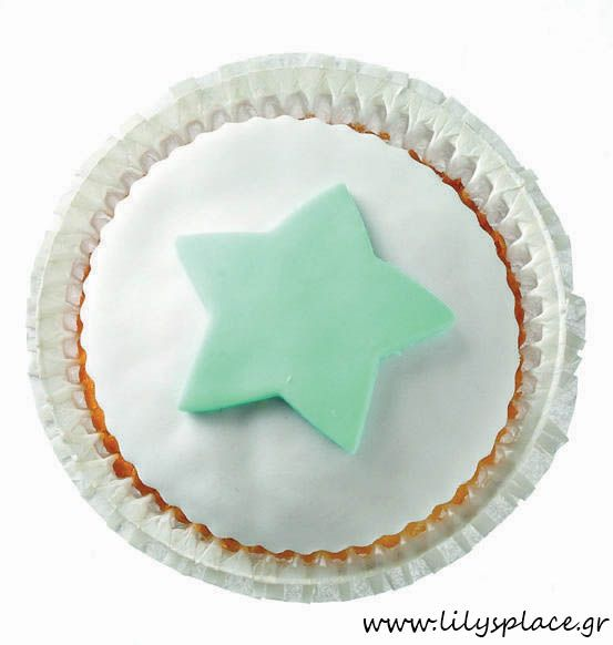 Cupcake με αστέρι