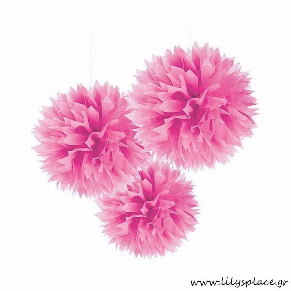 Fluffy διακοσμητικό ροζ