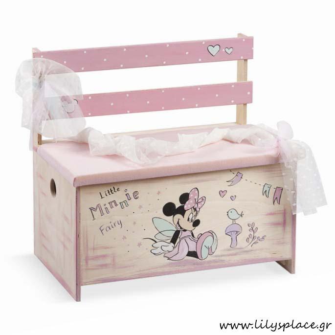 Κουτί βάπτισης με θέμα την Minnie νερά'ι'δα