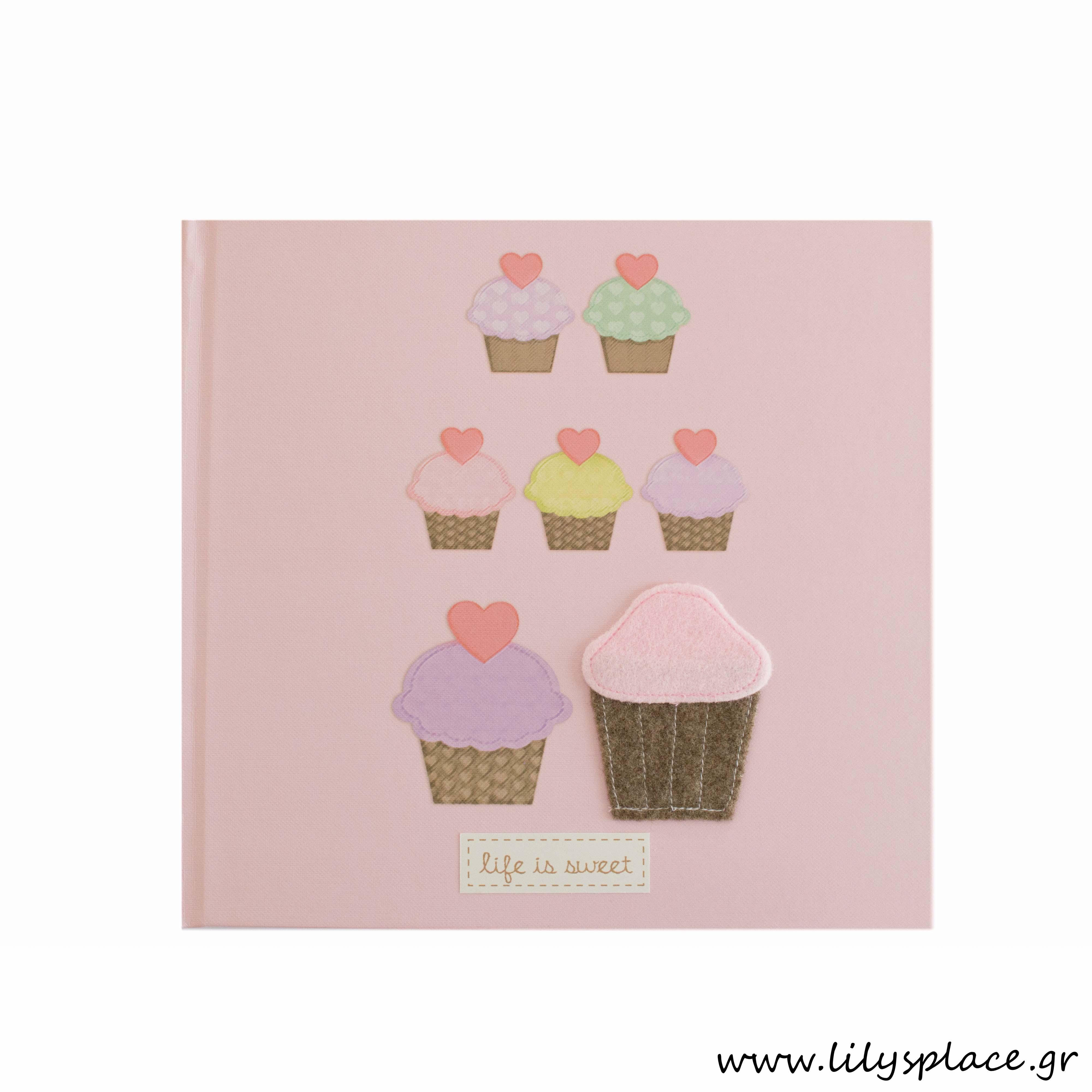 Ευχολόγιο βάπτισης cupcakes