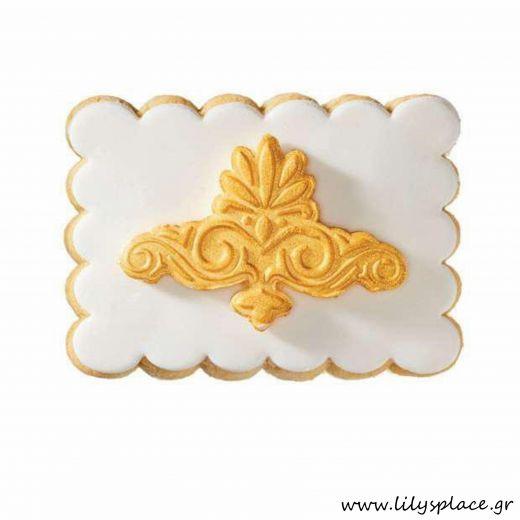 Μπισκότο γάμου με χρυσό